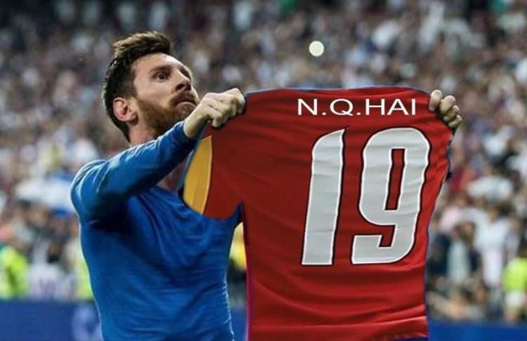 """Đến Messi cũng phải """"hâm mộ"""" Quang Hải."""