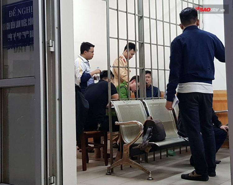 Hiếu tạicơ quan CSĐT Công an quận Ba Đình.