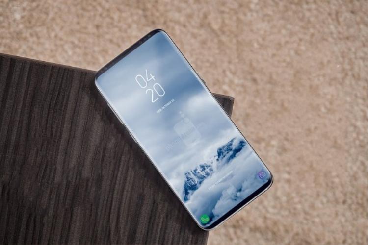 Ảnh dựng Samsung Galaxy S9 dựa trên tin đồn.