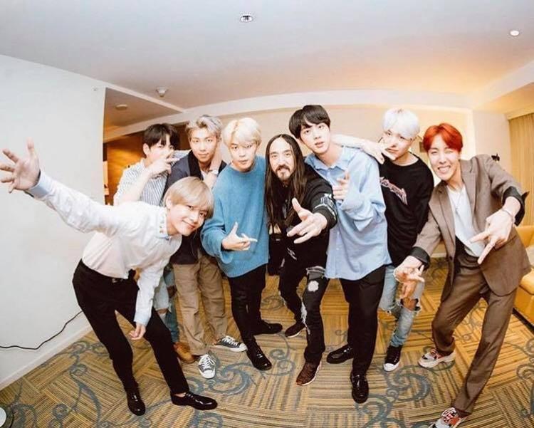 Steve Aoki tiết lộ kế hoạch trở lại cùng BTS trong năm 2018.