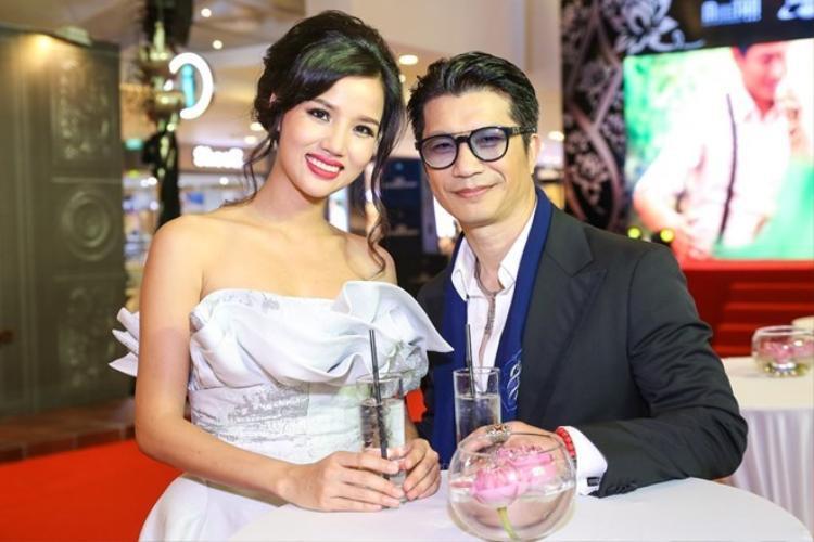 Dustin Nguyễn và Bebe Phạm.