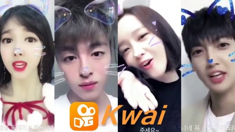 Nhiều sao Hàn từng rất thích tính năng lipsync của KWAI.