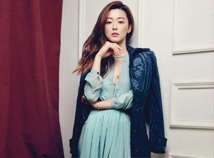 Nữ diễn viên Jun Ji Hyun