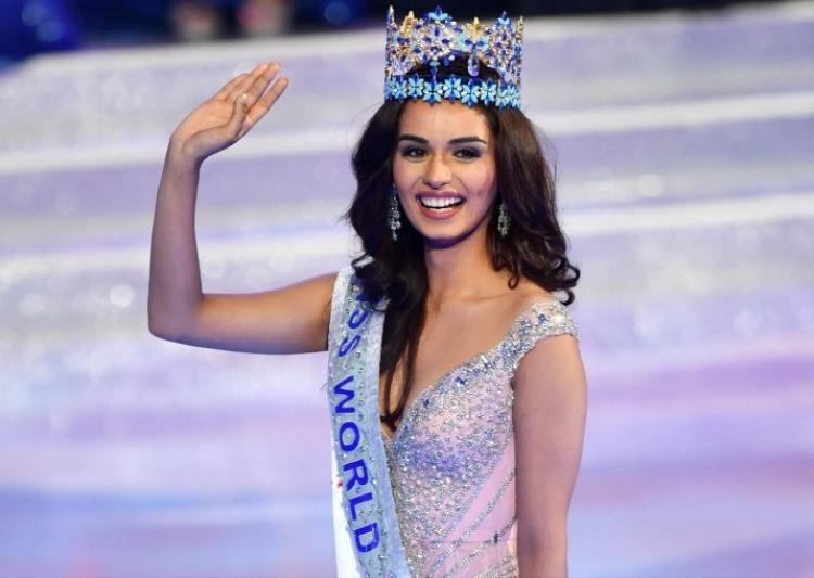 Đương kim Hoa hậu Thế giới người Ấn Độ- Manushi Chhillar xếp ở vị trí thứ 7.