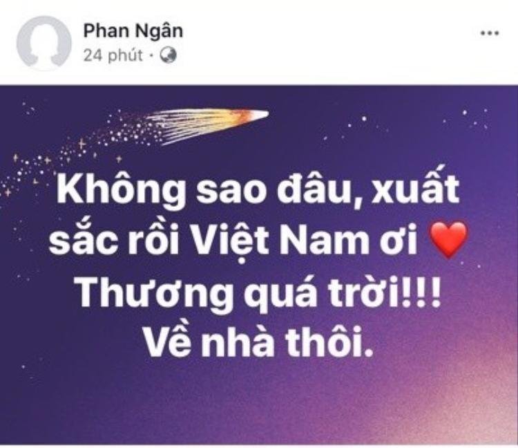 Phan Ngân The Face 2017.
