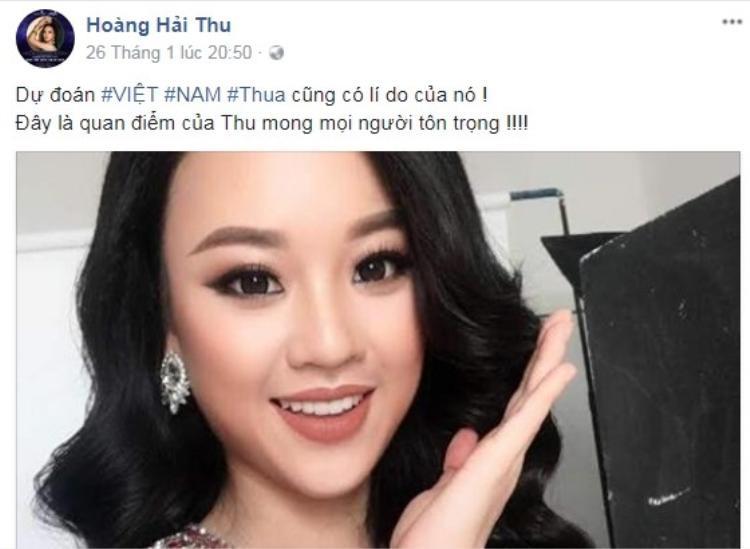 """Phải chăng, người đẹp gốc Hà Thành muốn tạo sự chú ý bằng những phát ngôn gây """"sốc""""?"""