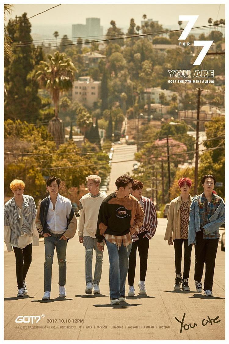 Sau You are, bản hit nào sẽ được lên sóng từ 7 chàng trai này?