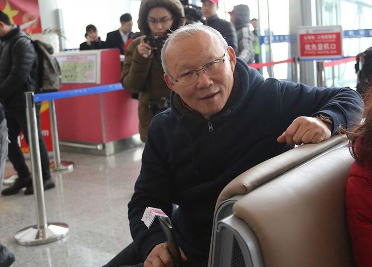 Huấn luyện viên tài ba Park Hang Seo.