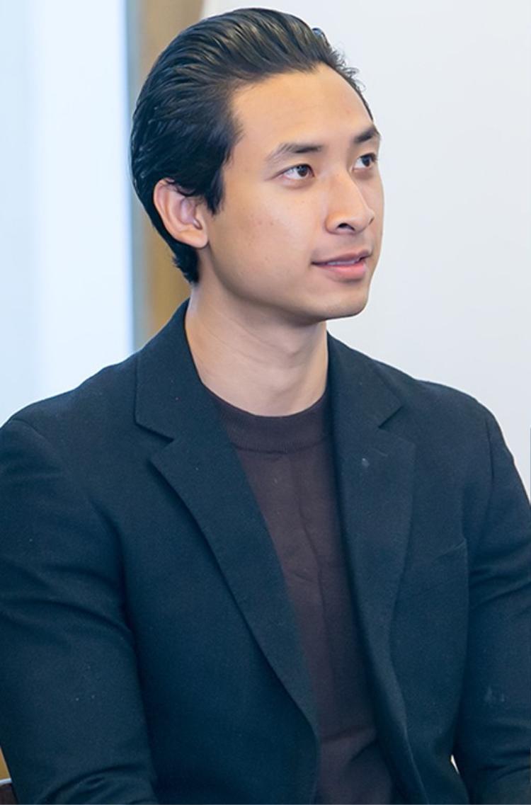 Người mẫu Hoàng Gia Anh Vũ đóng một vai nhỏ trong phim ngắn của Mỹ Dung.