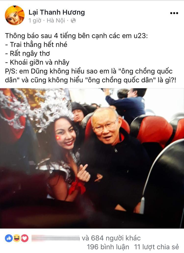 Người mẫu Next Top Model bị cư dân mạng ném đá dữ dội vì diện trang phục hở hang khi đón U23 Việt Nam