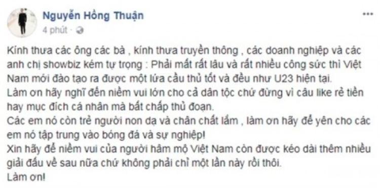 Nhạc sĩ Nguyễn Hồng Thuận...