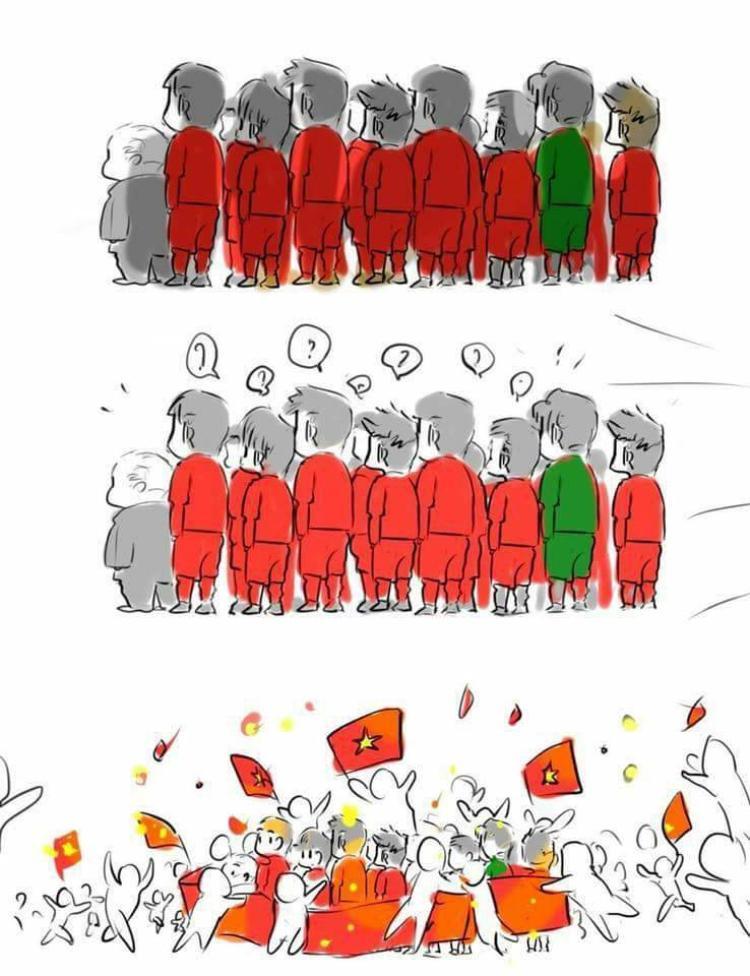 Và dù không dành được cúp vàng, nhưng U23 Việt Nam thật sự đã chiến thắng trong lòng người hâm mộ.