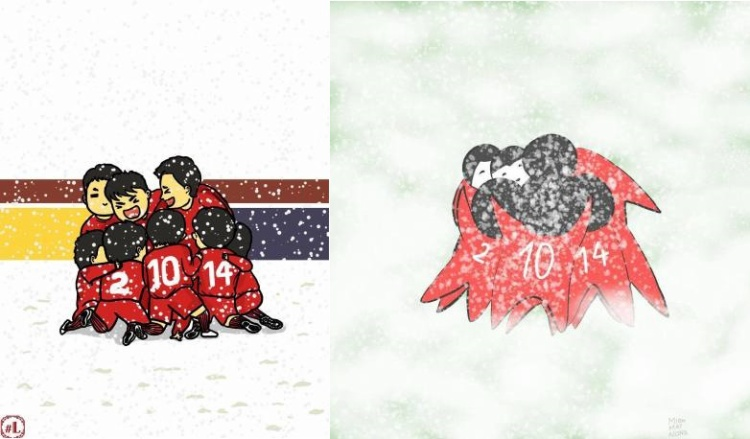 U23 Việt Nam đỏ chói giữa tuyết trắng Thành Châu!