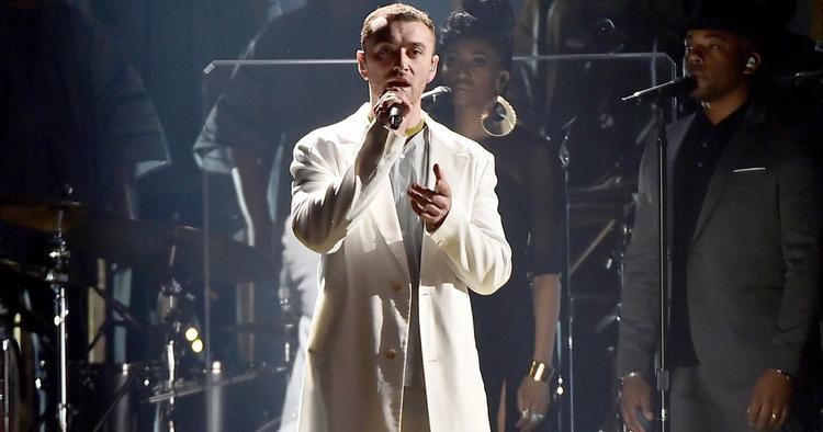 Sam Smith với Pray, một ca khúc về tôn giáo cũng được đề cử tại Grammynăm nay.