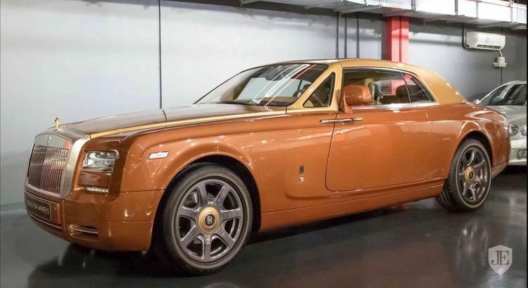 Chiêm ngưỡng Rolls-Royce Phantom Couple Tiger màu độc, giá hơn 12,5 tỷ