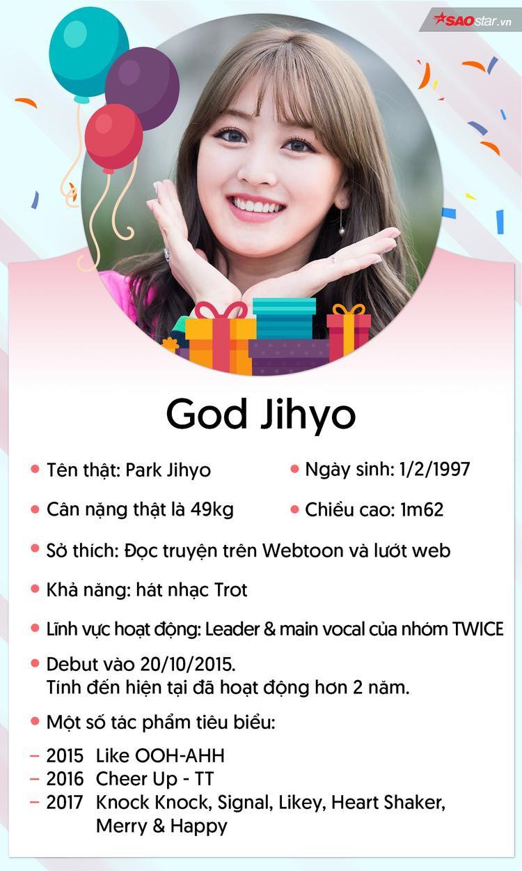 Jihyo  Cô thủ lĩnh bé nhỏ của TWICE xứng đáng nhận nhiều yêu thương hơn thế