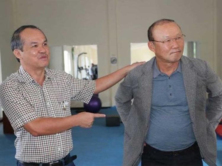 Bầu Đức là người có công mời HLV Park Hang Seo sang Việt Nam làm việc.