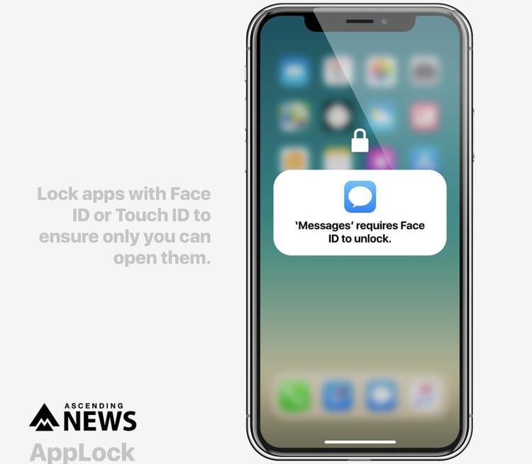 Cho phép người dùng khóa/mở ứng dụng chứa thông tin nhạy cảm bằng tính năng bảo mật Face ID hoặc Touch ID.