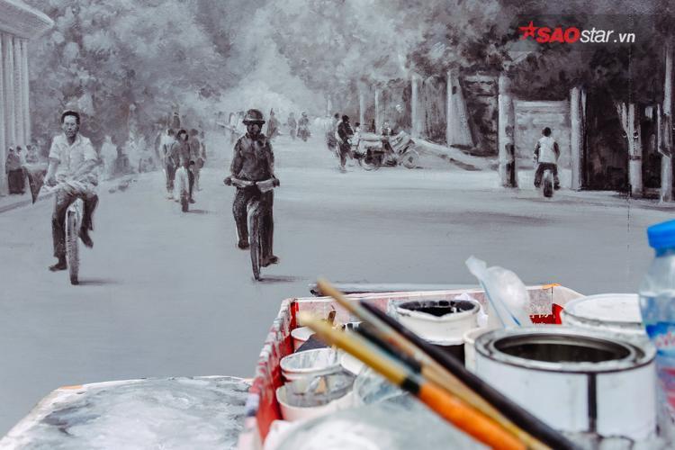 """Dự án """"Bích họa trên phố Phùng Hưng"""" nằm trong giai đoạn 1. Giai đoạn 2 sẽ tác động đến các cổng vòm từ đoạn phố Phùng Hưng đến phố Hàng Cót (mở vòm để phục vụ không gian văn hóa của Hà Nội). Giai đoạn 3 sẽ tác động vào các cổng vòm từ Cửa Đông đến phố Lê Văn Linh."""