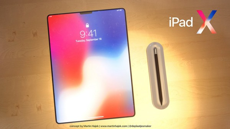 Như vậy, iPad đời mới cũng sẽ có tính năng nhận diện khuôn mặt FaceID, điều này khiến nút Home vật lý trở nên thừa thãi.