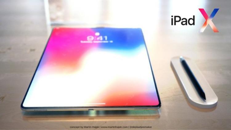 Mặc dù không có gì chắc chắn iPad Pro mới sẽ trông như concept này, Apple gần như chắc chắn sẽ làm mới thiết kế của những chiếc iPad trong năm 2018. Theo Bloomberg, những chiếc iPad mới sẽ ra mắt vào cuối năm nay.