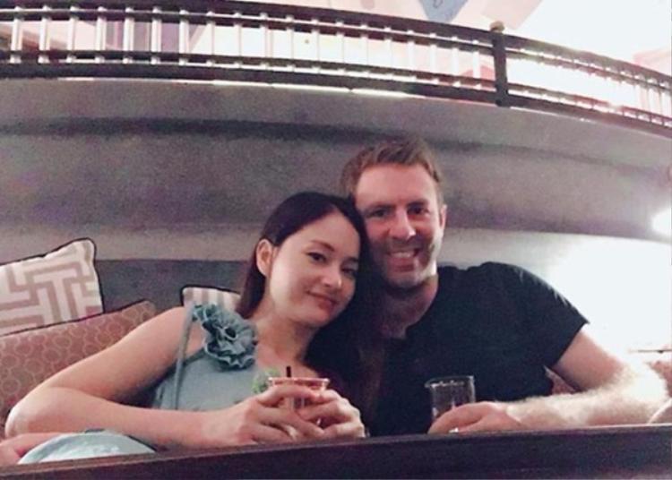 Mai Lan của Cô gái xấu xí đang tận hưởng cuộc sống hạnh phúc bên bạn trai David.