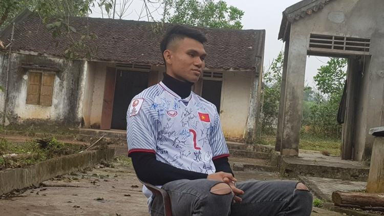 Cầu thủ Xuân Mạnh.