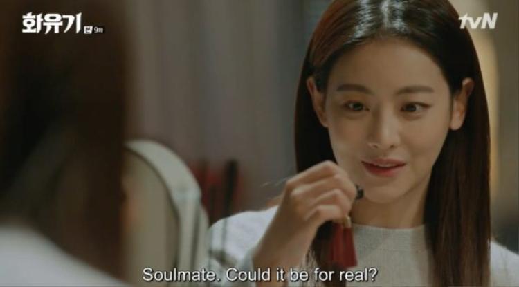 """Sun Mi còn vẫn đang nghĩ """"chiếc Saryung"""" cô đang cầm là chiếc chuông tri kỉ cơ đấy nhưng thực tế thì…"""