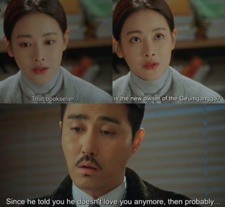 Những lời nói dối ích kỉ của Ngưu Ma Vương làm tổn thương trái tim Jin Sun Mi sâu sắc. Ngưu Ma Vương thật đúng là cầm tinh con… kì đà cản đường cản lối đôi trẻ.