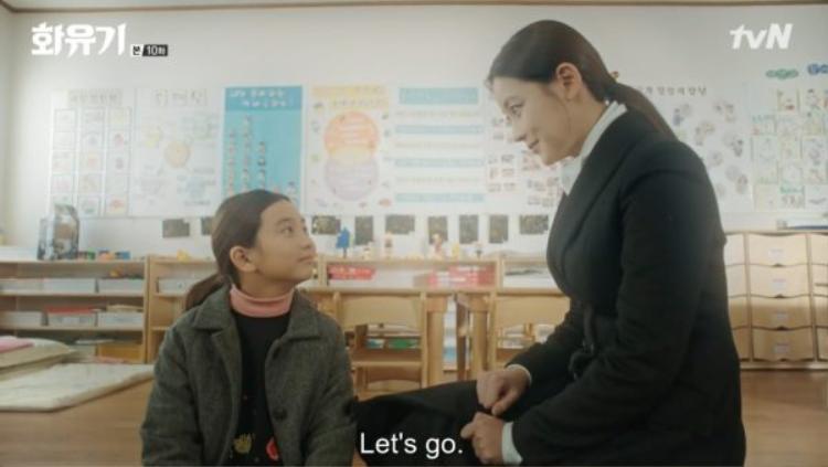Jin Sun Mi cuối cùng đã buông xuống được tuổi thơ bất hạnh của mình.