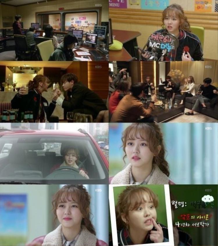 Vào vai một biên tập viên tâm huyết và không kém phần năng động trong phim, Kim So Hyun đang cho khán giả thấy tài năng diễn xuất của mình.