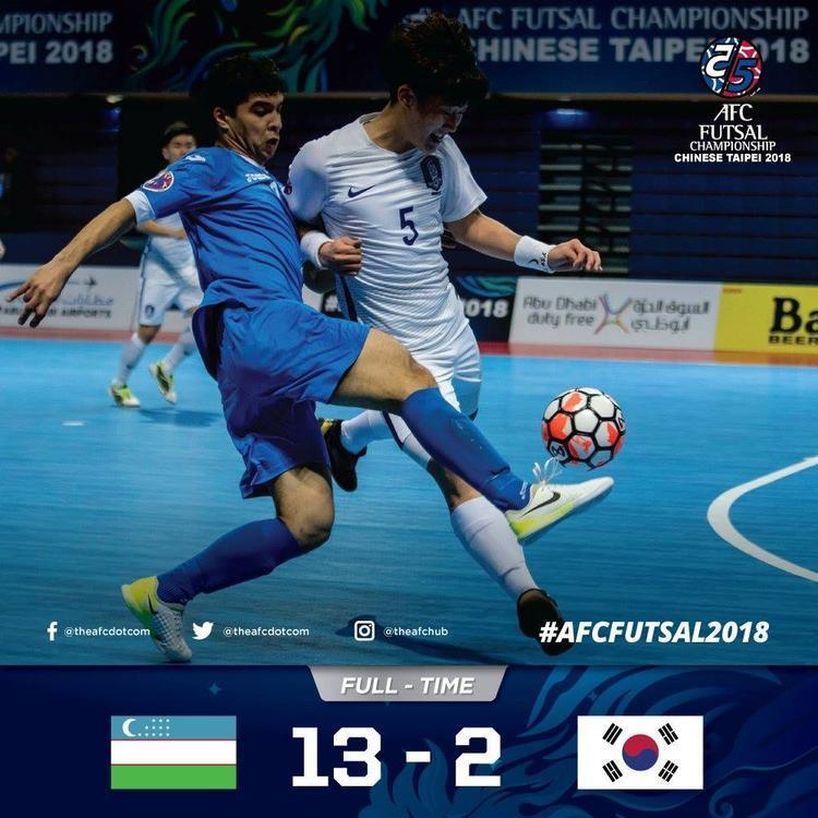 Dội mưa bàn thắng vào lưới Hàn Quốc, Uzbekistan có thể tái đấu Việt Nam tại giải futsal châu lục