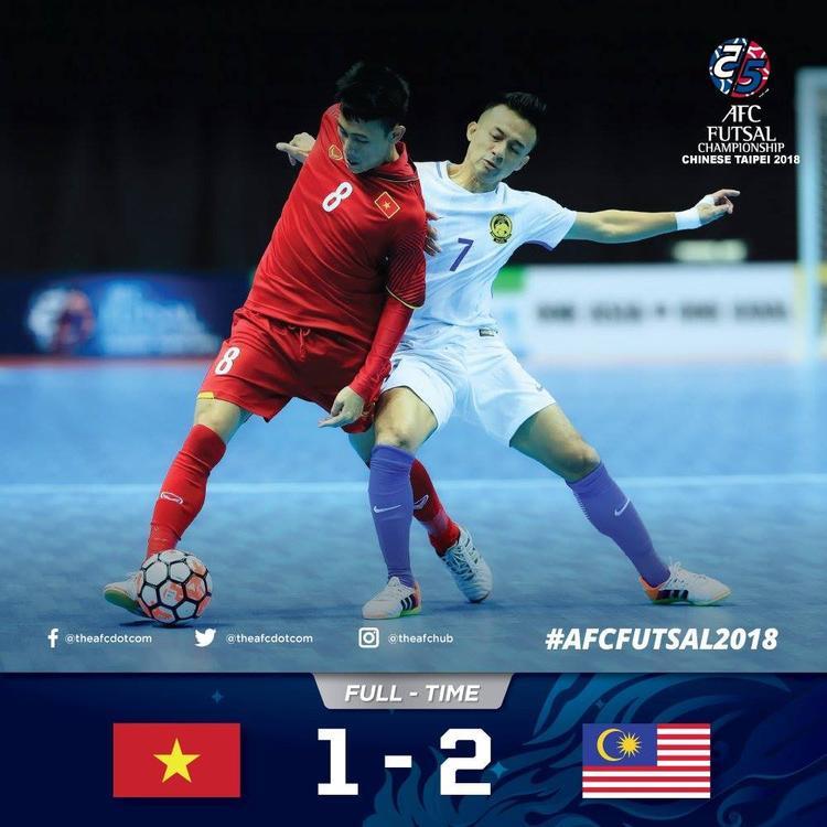 Dù thi đấu trên cơ, tuyển Việt Nam lại để thua ngược trước đối thủ đầy bất ngờ. Đầu tiên là cú sút xa không thể cản phá của Effendu ở phút 35. Sau đó đến bàn thắng ở 2 giây cuối cùng do công của Nawi.
