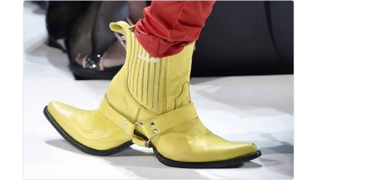 Có ai đoán được đâu là mặt trước và mặt sau của đôi giày không?