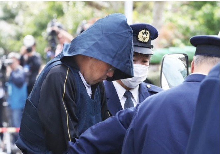 Yasumasa Shibuya, nghi phạm sát hại bé Nhật Linh vẫn im lặng kể từ khi bị bắt ngày 14/4 - Ảnh: Mainichi