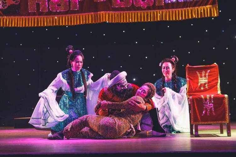Những màn trình diễn đặc sắc được thể hiện trong chương trình.