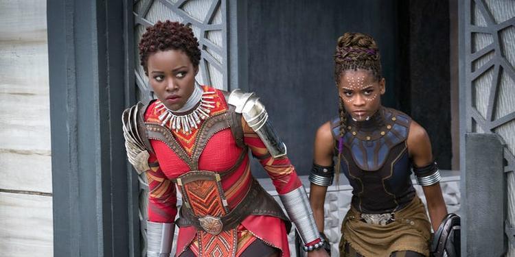 Các nữ anh hùng trong Black Panthersắp được khởi chiếu.