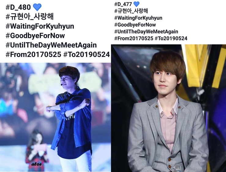 Năm nay, Kyu Hyun sẽ mừng sinh nhật 31 cùng với đồng đội của mình trong quân ngũ. Dù vậy, những người yêu mến nam ca sĩ vẫn cố gắng dành món quà tinh thần đáng yêu nhất đến anh.(ảnh từ fanpage KyusoloVN)