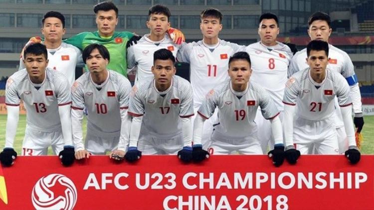 VFF bất ngờ thông báo việc sở hữu hình ảnh U23 Việt Nam.