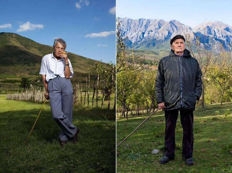 Phụ nữ ởAlbania có diện mạo và làm công việc như nam giới. Ảnh:Jill Peters