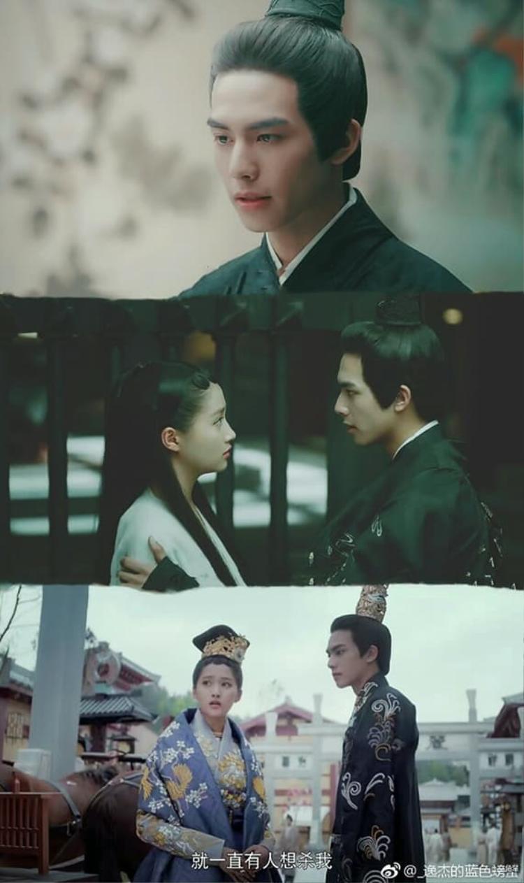 Loạt ảnh siêu tình của Dung Chỉ và Lưu Sở Ngọc trong Phượng tù hoàng.