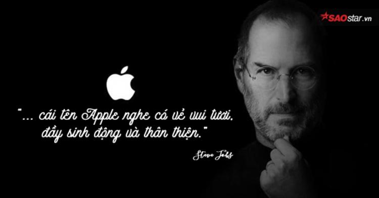 Lý do đầy bất ngờ Steve Jobs chọn trái táo để đặt tên cho công ty của mình