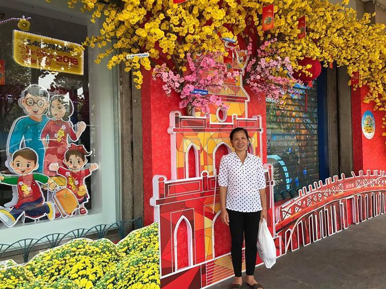 Mẹ của Phạm Xuân Mạnh đã có mặt ở TP.HCM.