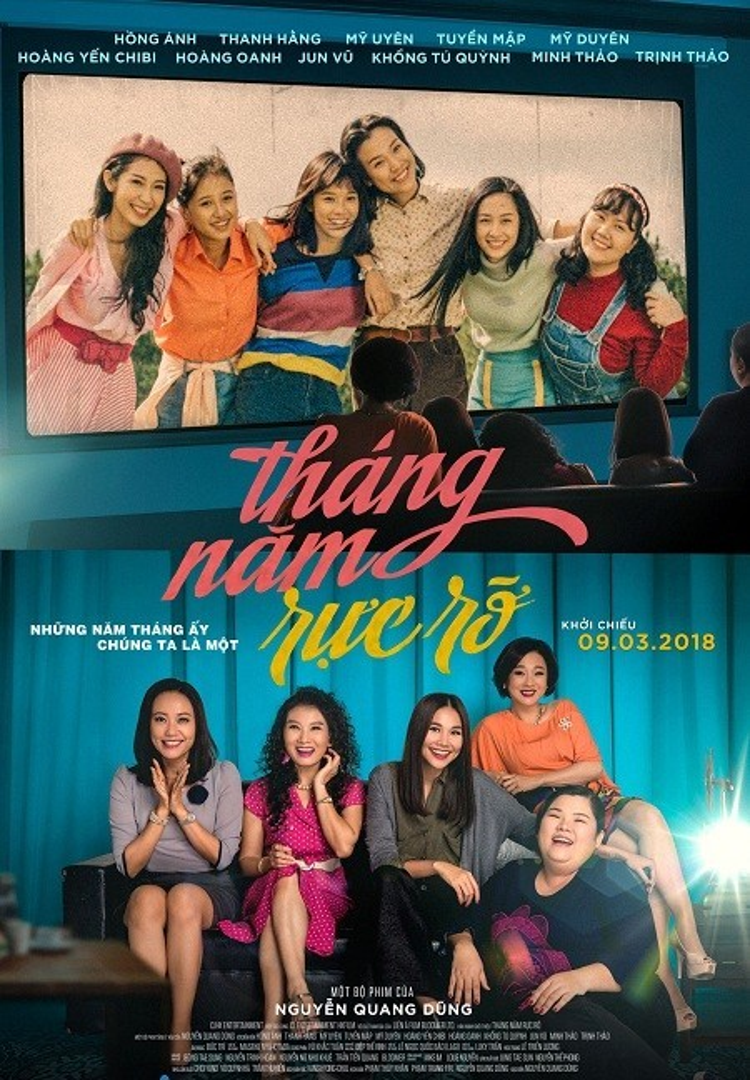 Hội tụ dàn diễn viên nữ thực lực thuộc hai thế hệ, Tháng năm rực rỡ hứa hẹn sẽ làm bừng sáng điện ảnh Việt đầu năm mới