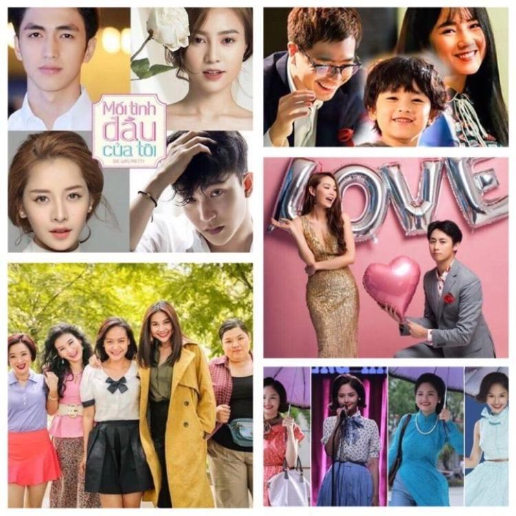Các bộ phim Việt remake bản Hàn gần đây.