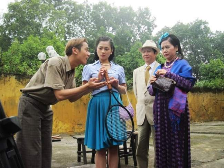 Việt Bắc trong một cảnh phim Xuân Tóc Đỏ.