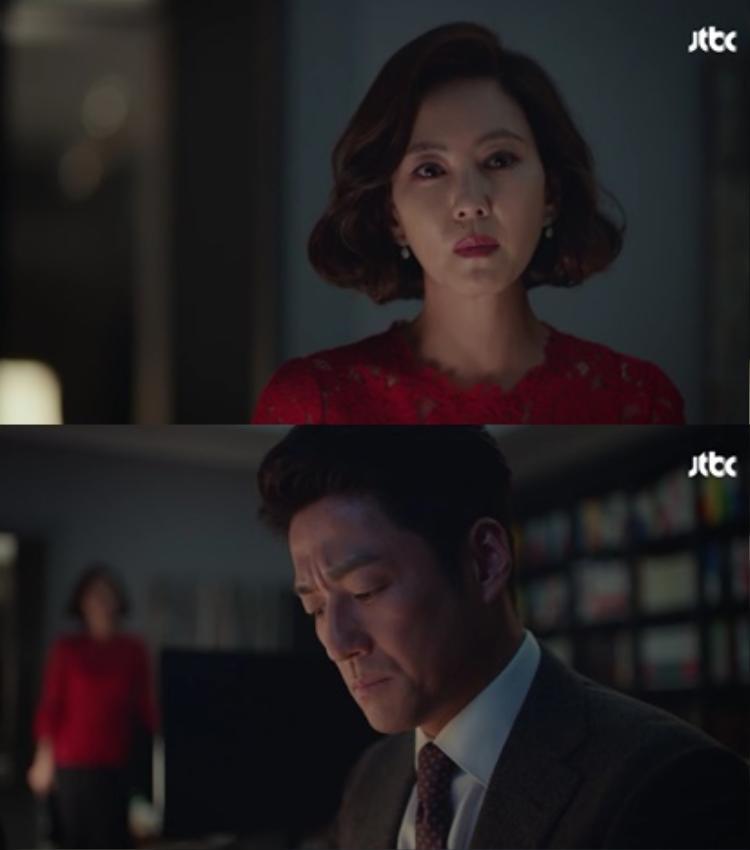 Đời sống hôn nhân ngột ngạt giữa Go Hye Ran và luật sư Kang Tae Wook.
