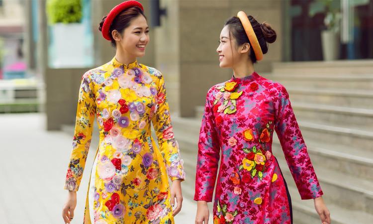 Mấn là một phụ kiện độc đáo và sáng tạo dành riêng cho trang phục áo dài. Mấn đội đầu kết hợp cùng áo dài truyền thống hay áo dài cách tân đều tôn lên vẻ đẹp vô cùng tinh tế cho người mặc.