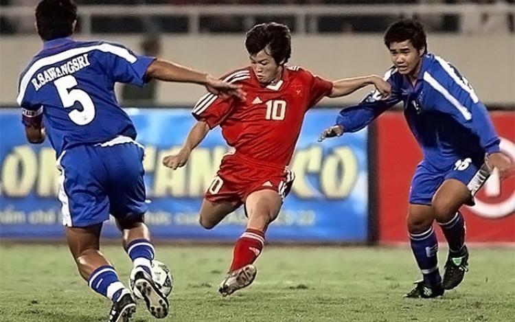 """Văn Quyến từng được xem là """"thần đồng"""" của bóng đá Việt Nam."""