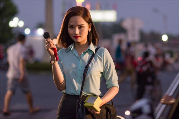 """Miu Lê trong """"Bạn gái tôi là sếp""""."""